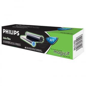 Philips Thermo-Transfer-Rolle 2x schwarz (906115312009, PFA-331)