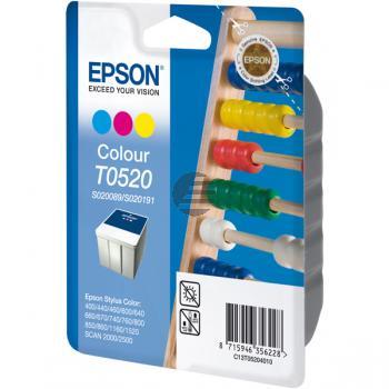 Epson Tinte Cyan/gelb/Magenta (C13T05204010, T0520)