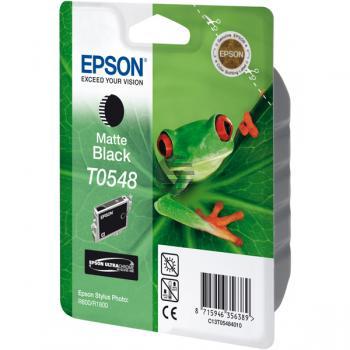 Epson Tintenpatrone schwarz matt (C13T05484010, T0548)