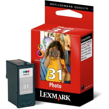 Lexmark Tintenpatrone Photo-Tinte farbig (18C0031E, 31)