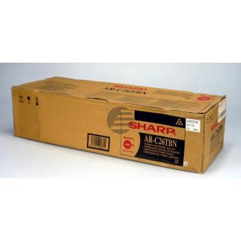 Sharp Toner-Kit Entwicklereinheit schwarz (AR-C26TBE AR-C26TBN AR-C26TBU)
