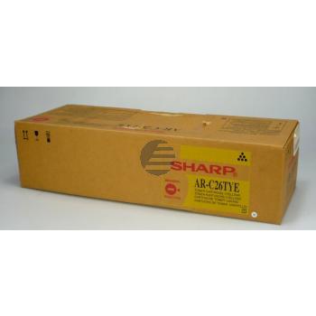 Sharp Toner-Kit Entwicklereinheit gelb (AR-C26TYE AR-C26TYU)