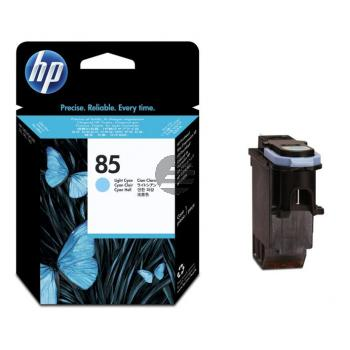 HP Tintendruckkopf cyan light (C9423A, 85)