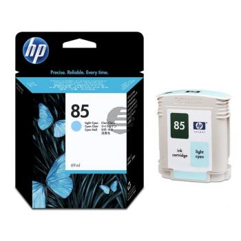 HP Tintenpatrone cyan light (C9428A, 85)