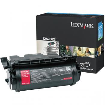 Lexmark Toner-Kartusche schwarz HC (12A7362)