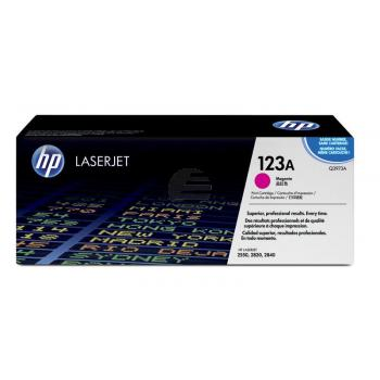 HP Toner-Kartusche magenta (Q3973A, 123A)
