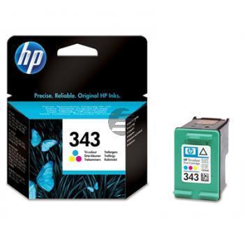 HP Tintenpatrone cyan/gelb/magenta (C8766EE, 343)