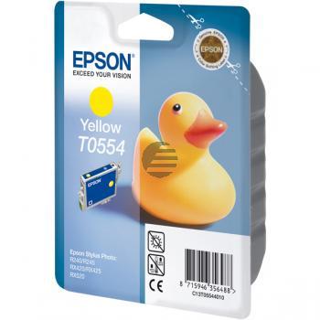 Epson Tinte gelb (C13T05544010, T0554)