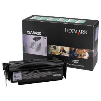 Lexmark Toner-Kartusche Prebate schwarz (12A8420)