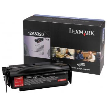 Lexmark Toner-Kartusche schwarz (12A8320)