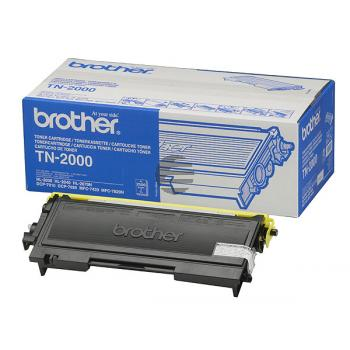 Brother Toner-Kit zwart (TN-2000)