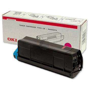 OKI Toner-Kit Magenta (43034802 43034806)