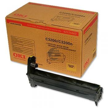 OKI Fotoleitertrommel gelb (42126662)