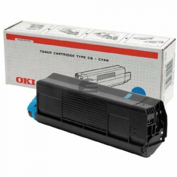 OKI Toner-Kit Cyan (43034803 43034807)