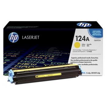HP Toner-Kartusche gelb (Q6002A, 124A)