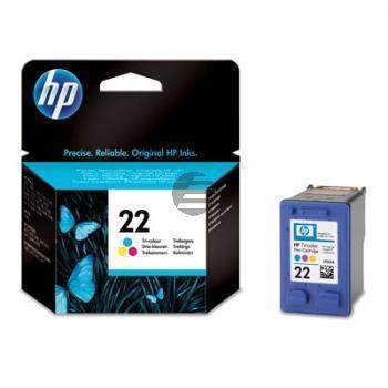 HP Tintendruckkopf Cyan/gelb/Magenta (C9352AE, 22)