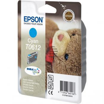 Epson Tinte Cyan (C13T06124010, T0612)
