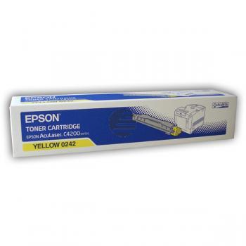 Epson Toner-Kartusche gelb (C13S050242, 0242)