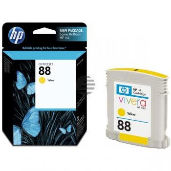 HP Tinte gelb (C9388AE, 88)