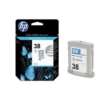 HP Tintenpatrone hellgrau (C9414A, 38)