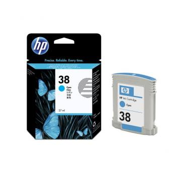 HP Tintenpatrone cyan (C9415A, 38)