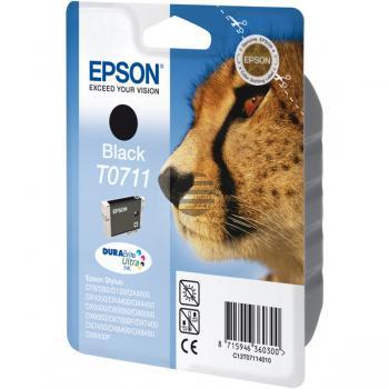 Epson Tinte schwarz (C13T07114010, T0711)