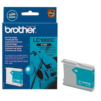 Brother Tinte Cyan (LC-1000C)