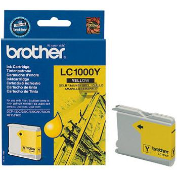 Brother Tinte gelb (LC-1000Y)