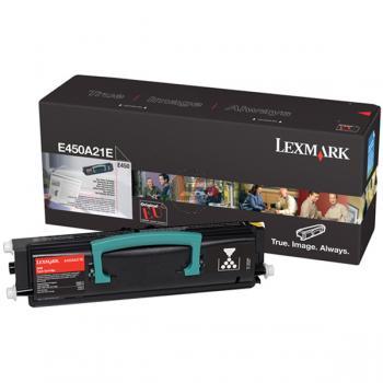 Lexmark Toner-Kartusche schwarz (E450A21E)