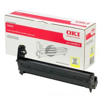 OKI Fotoleitertrommel gelb (43449013)