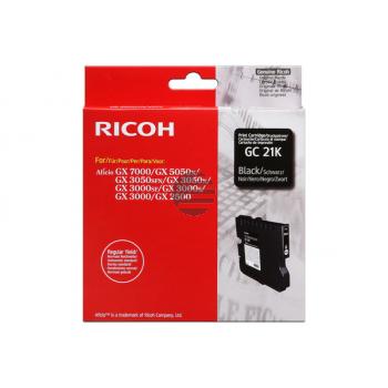 Ricoh Gel-Kartuschen schwarz (405532, GC21K)