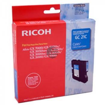 Ricoh Gel-Kartuschen cyan (405533, GC21C)