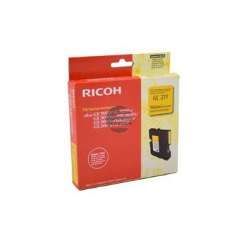 Ricoh Gel-Kartuschen gelb (405535, GC21Y)