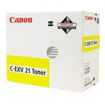 Canon Toner-Kit gelb (0455B002, C-EXV21Y)