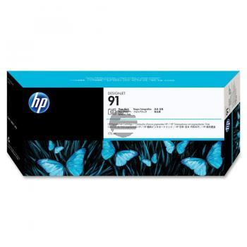HP Tintenpatrone schwarz photo schwarz (C9465A, 91)