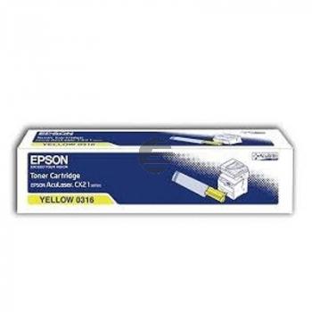 Epson Toner-Kit gelb (C13S050316, 0316)