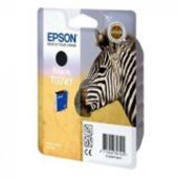 Epson Tintenpatrone schwarz (C13T07414010, T0741)