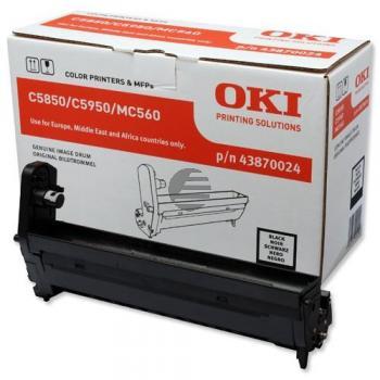 OKI Fotoleitertrommel schwarz (43870024)