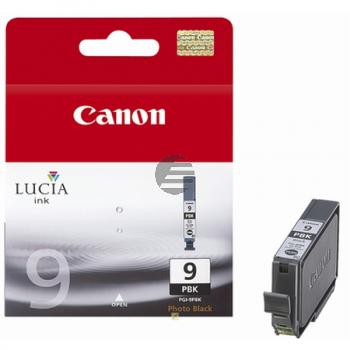 Canon Tintenpatrone Photo-Tinte Photo schwarz (1034B001, PGI-9PBK)