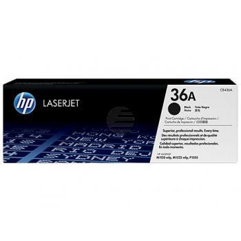 HP Toner-Kartusche schwarz (CB436A, 36A)