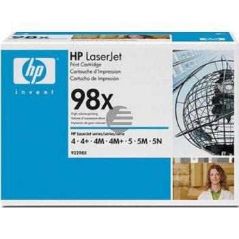 HP Toner-Kartusche schwarz HC (92298X, 98X)