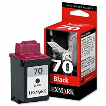 Lexmark Tintendruckkopf schwarz HC (12AX970E, 70)