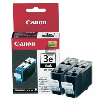 Canon Tinte 2 x schwarz 2-Pack (4479A028, 2 x BCI-3EBK)