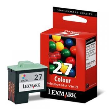 Lexmark Tintendruckkopf + Papier Cyan/gelb/Magenta (80D2038, 27)