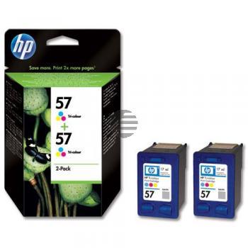 HP Tintendruckkopf 2 x Cyan/gelb/Magenta HC (C9503AE, 2 x 57)