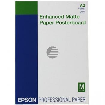 Epson Enhanced Matte Posterboard DIN A2 weiß 20 Seiten (C13S042111)