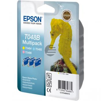 Epson Tintenpatrone gelb light cyan magenta light (C13T048B4010, T048B)