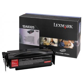 Lexmark Toner-Kartusche schwarz HC (12A8325)