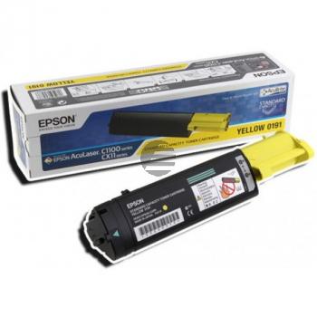Epson Toner-Kartusche gelb HC (C13S050187, 0187)
