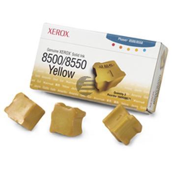 Xerox ColorStix gelb 3er Pack (108R00671)